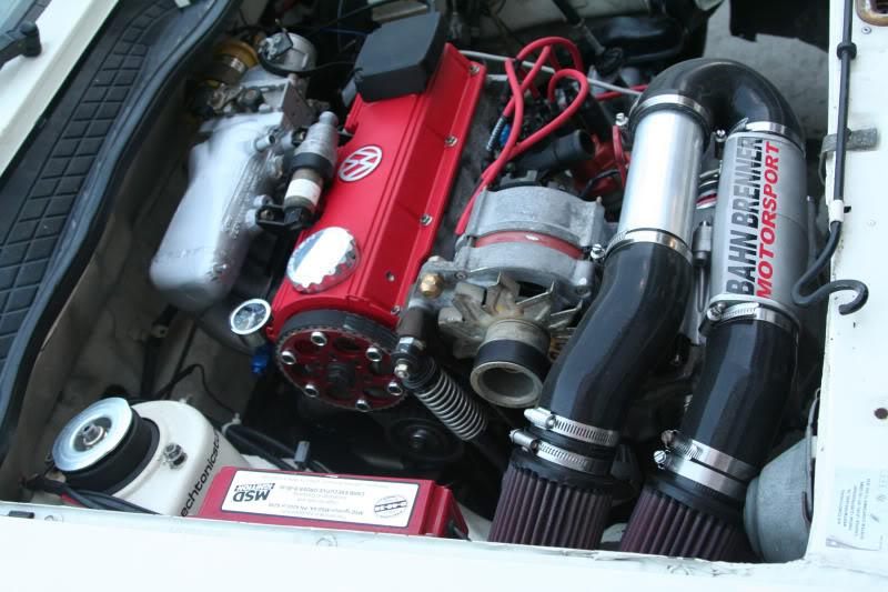 Custom ported G60 intake manifold